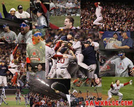 The 2007 World Series Champions Kids News Article