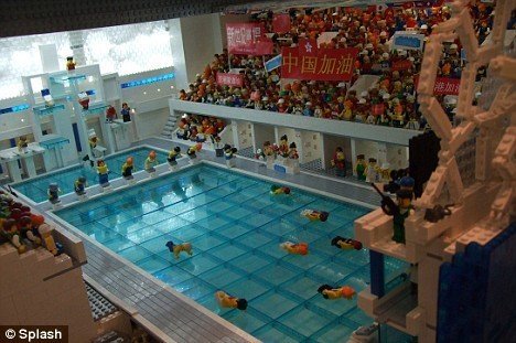 Re-Creating The Beijing Olympic Village With Legos Kids News Article