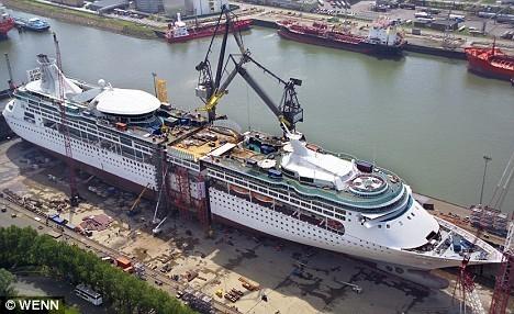 Two New Ships Garden Island