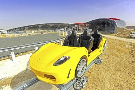 Smallest Roller Coaster In The World Ferrari gt rollercoaster The Smallest Roller Coaster In The World