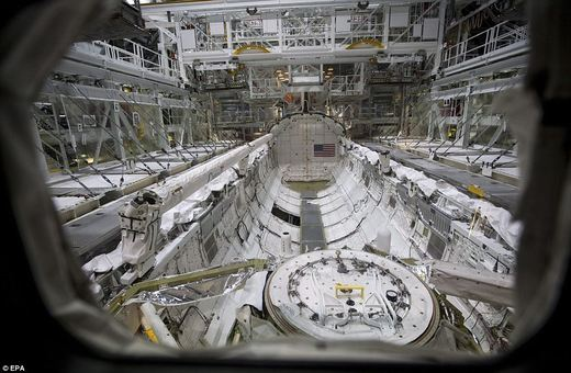 space shuttle discovery inside - photo #26