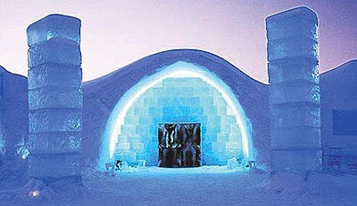 sweden 39 s ice hotel is open for business kids news article. Black Bedroom Furniture Sets. Home Design Ideas
